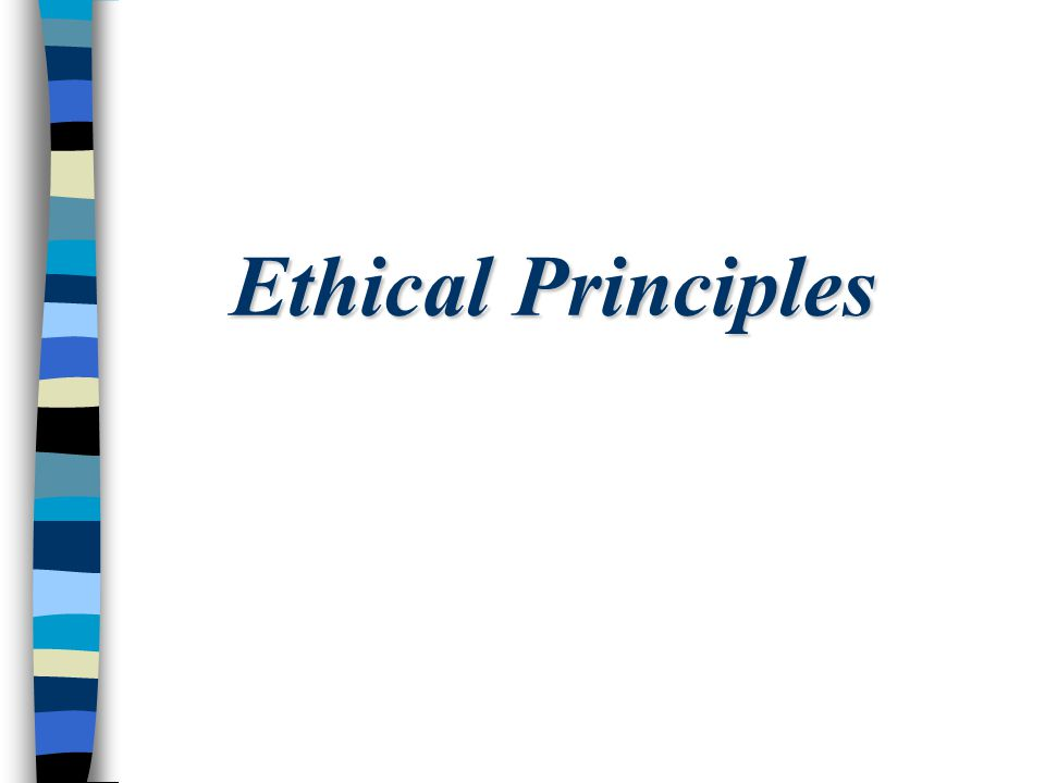 The Belmont Report Ethical Principles and Guidelines for the Protection of Human Subjects of Research The National Commission for the Protection of Human Subjects of Biomedical and Behavioral Research April 18, 1979