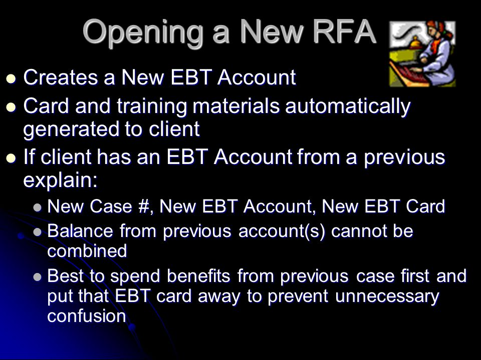 When benefits in an account have not been used for 270 Days, they are EXPUNGED. The benefits will no longer be available to the client, ALL FS and/or
