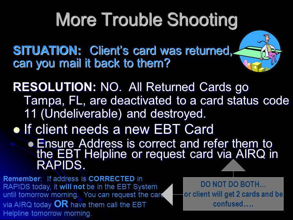 RCSDJI West Virginia EBT Production System 02/03/04 Detail Journal Inquiry 10:04:07 Card #: 5077200000XXXXXX Account Sts: 01 EDA #: 354000239144 Card