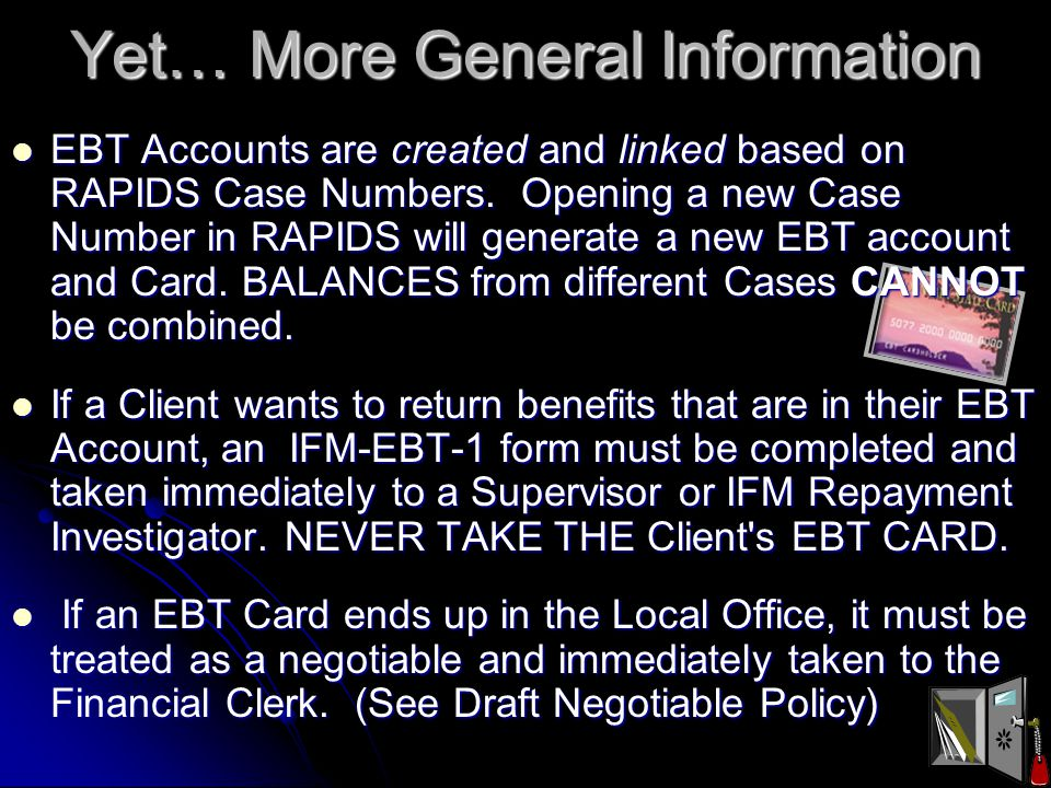 More General Information An Authorized Cardholder, Legal Guardian, and/or Protective Payee are required to use the Primary Person's Birth Date and ALL