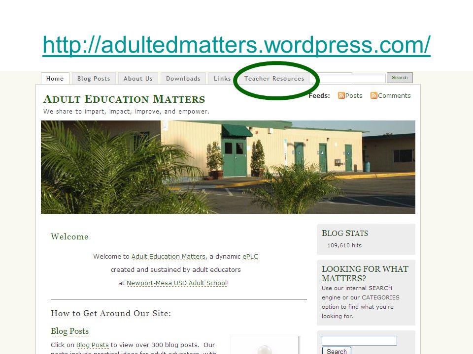 http://adultedmatters.wordpress.com/