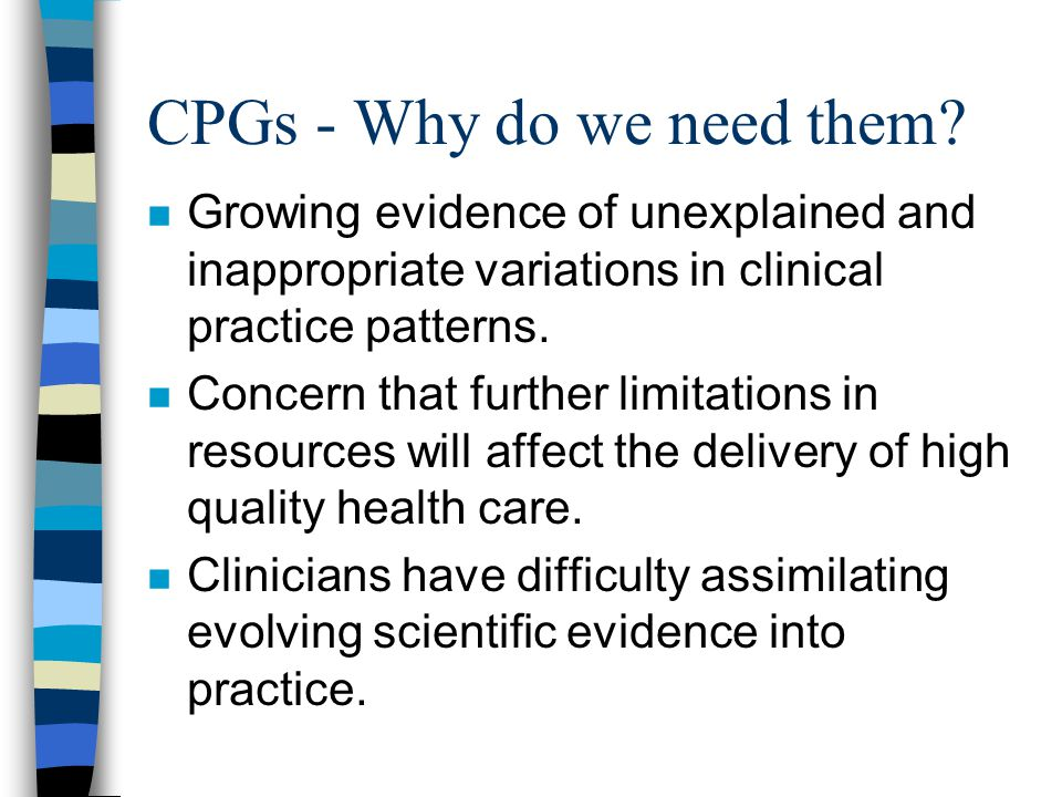 KEY CLINICAL ISSUES REQUIRING CPG DEVELOPMENT Ë OPTIMAL ENTERAL NUTRITION SUPPORT (esp.