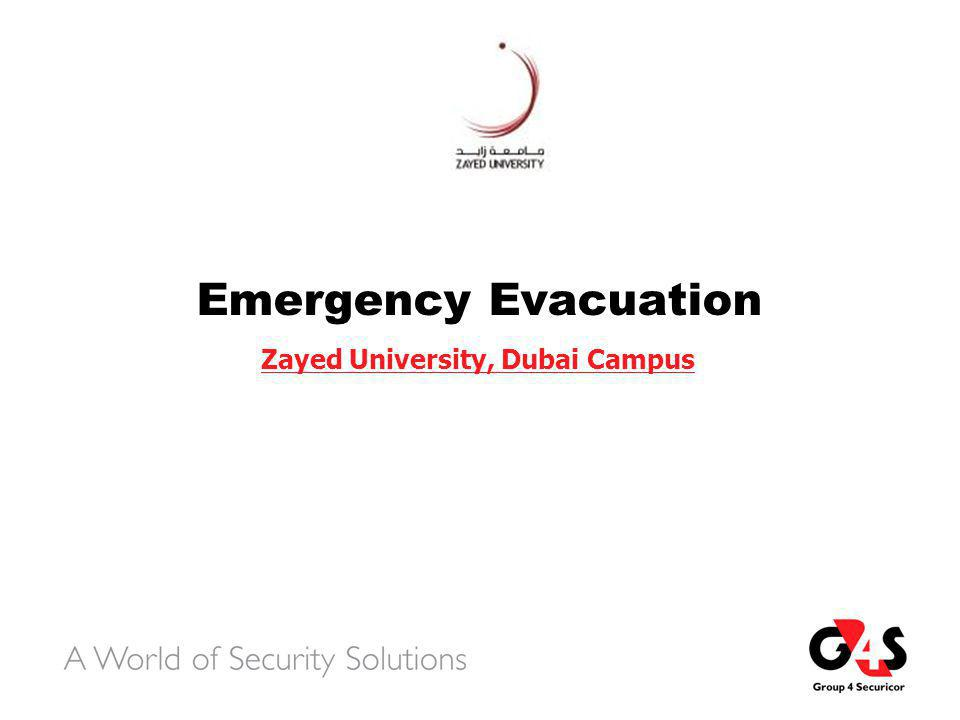 SCOPE  Purpose and Objectives of Evacuation Procedures  Assembly Points  Standard Fire Procedures: Immediate Response Priorities  Evacuation Sequence  Tasks: Emergency Response Team Members  Tasks:  Emergency Coordinator  Fire Wardens  Security Personnel  Assembly Point Coordinator  Securing workstation/ Office Close Down Procedures