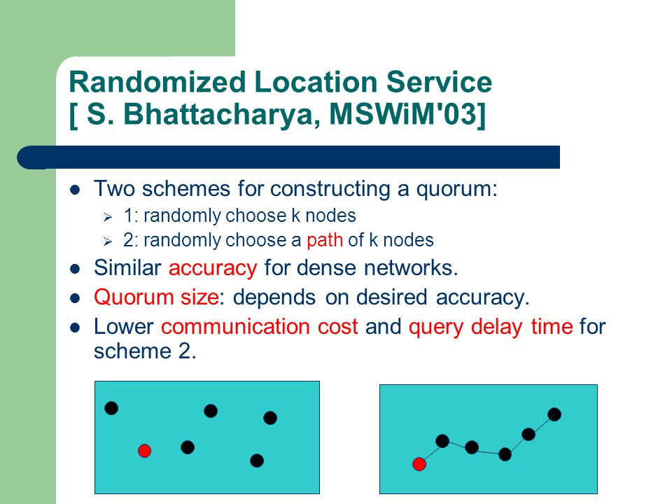 Randomized Location Service [ S.