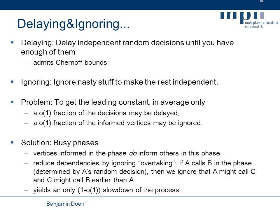 Benjamin Doerr Delaying&Ignoring...