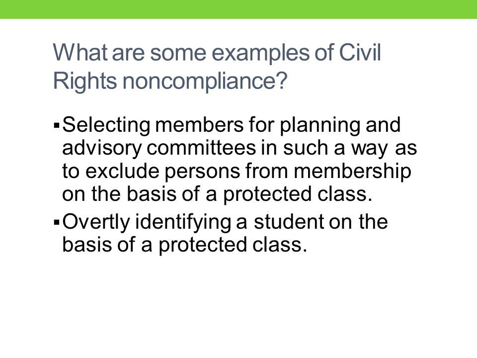  Selecting members for planning and advisory committees in such a way as to exclude persons from membership on the basis of a protected class.