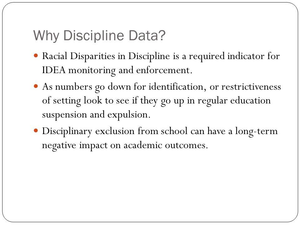 Why Discipline Data.