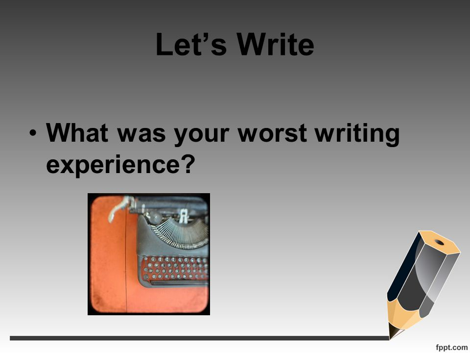 PurposePossible Writing Topics Express and ReflectMy first class The first time a student dropped My first graduate Inform and ExplainThe First Adult Education classes Why more adults come back to class Evaluate and JudgeBest Teaching Practices Sage on the Stage VS Guide on the Side Inquire and ExploreProfessional Development Opportunities Networking Across Curriculum Analyze and InterpretDoes Assessment lead to Retention Does new standards lead to students being ready for college.