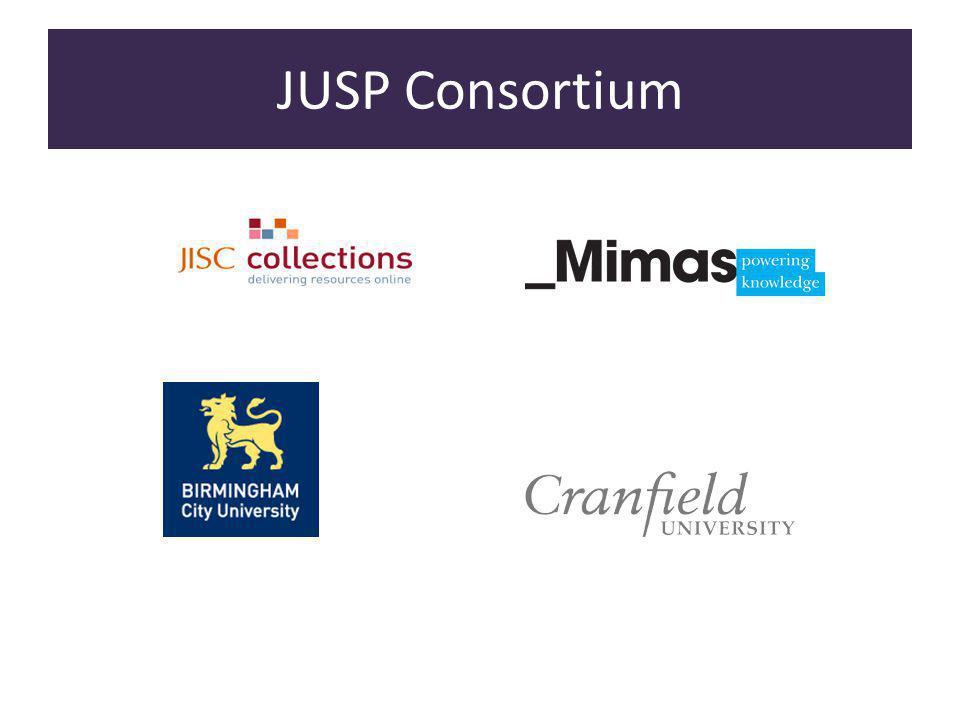 JUSP Consortium