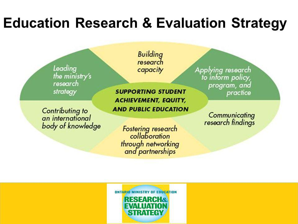 Education Research & Evaluation Strategy
