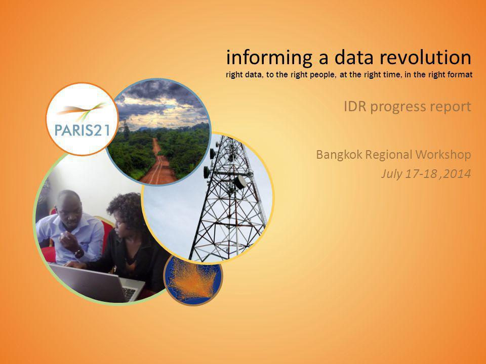informing a data revolution 22 1
