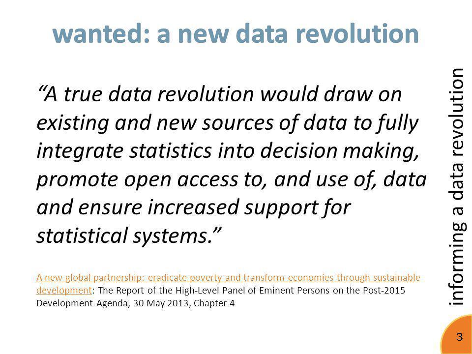 informing a data revolution 14 1 metabase