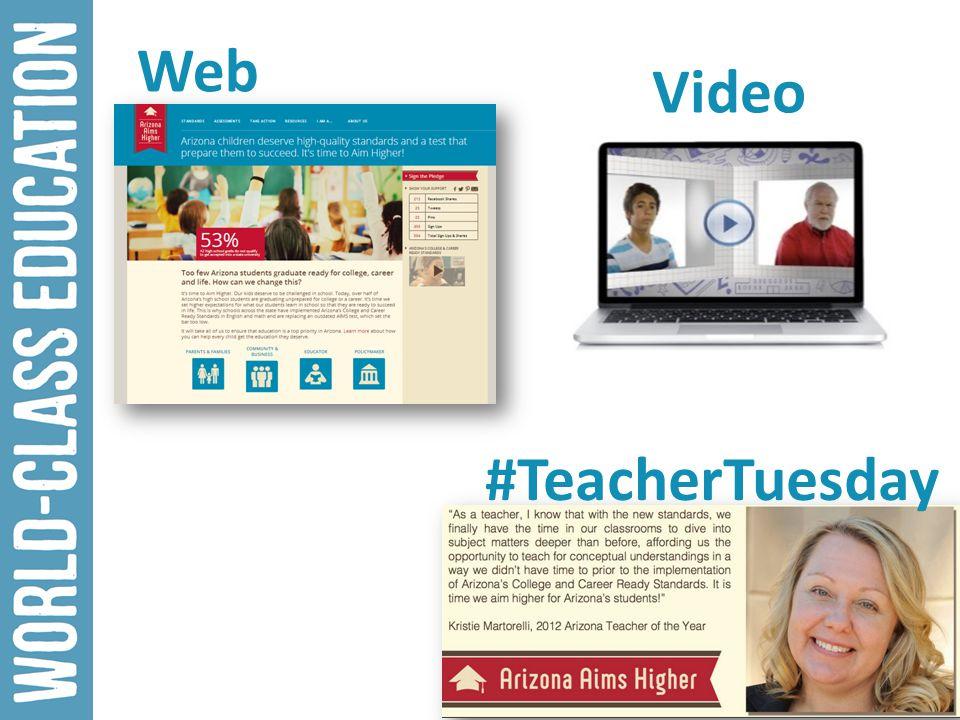Video Web #TeacherTuesday