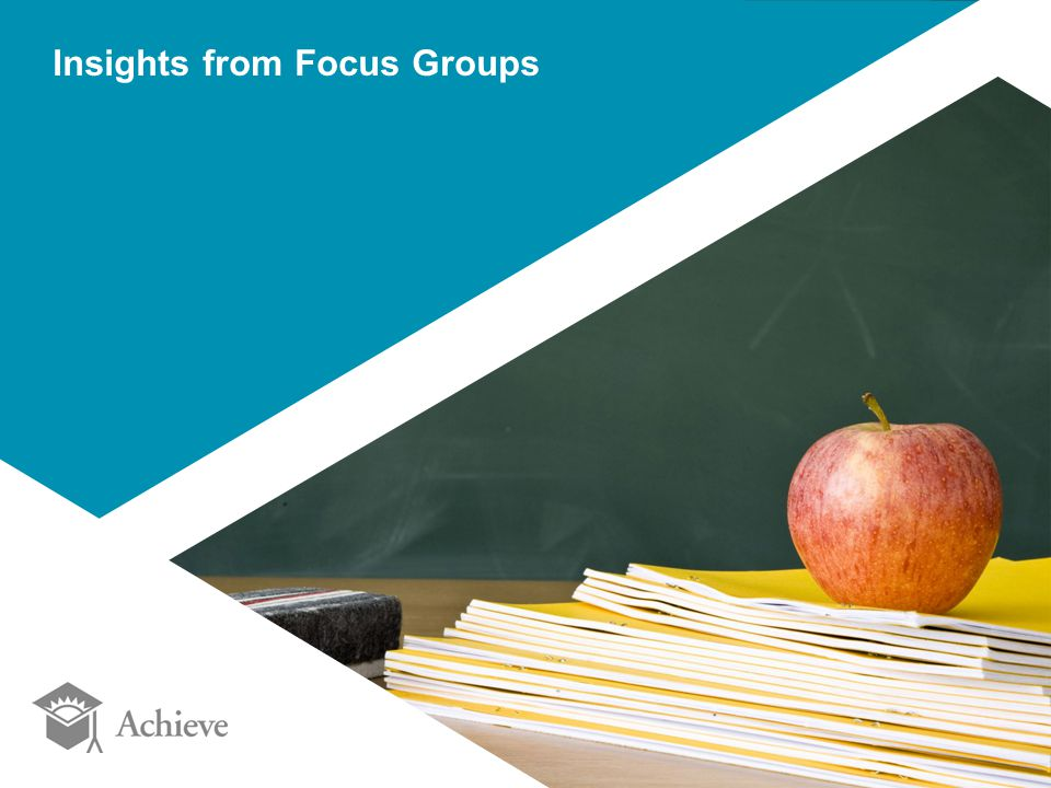 Insights from Focus Groups