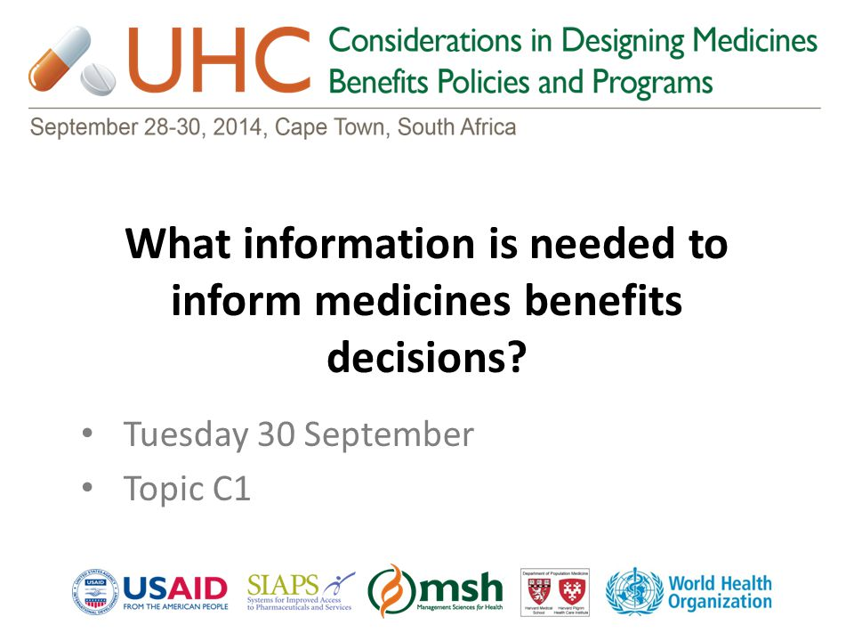 What are key performance indicators of medicines benefits from different stakeholders' perspectives.