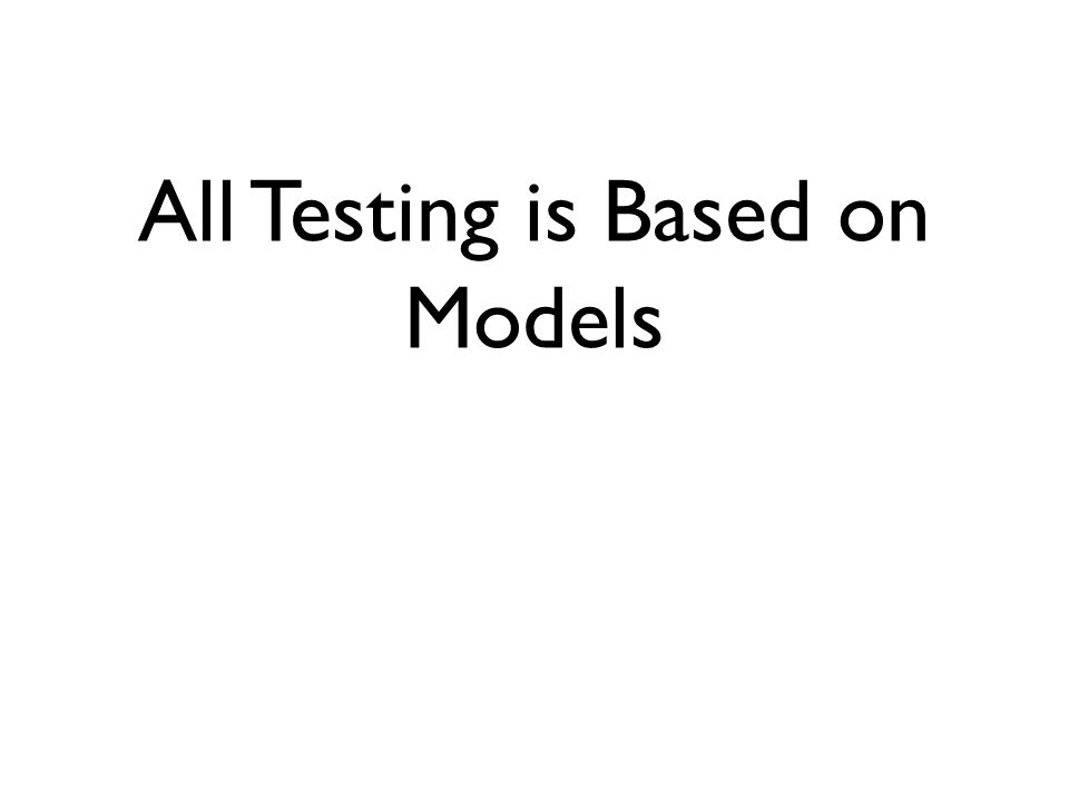 Analysis, enquiry and elicitation Modelling Creation of custom models, using heuristics, guesses, brainstorming, ideation, creative thinking Custom test design techniques Comparison of models, value, advantages, disadvantages, compromises Identification, validation and use of oracles Predicate logic and proof Hypothesis and inference Socratic method Rapid Review and Inspection techniques Test case design Test models and the meaning of coverage Testing as controlled experiment Observation, Note taking, recording A very different skillset Basic data analysis and statistics Decision-making with incomplete data Computer forensics Fault tree analysis Failure diagnosis Bug advocacy, triage processes and negotiation Meaningful software and test metrics Visual presentation of data Reporting and presentation skills Understanding stakeholders Test analytics Risk management, risk-based testing and decision-making Critical Thinking Interpersonal skills Dealing with uncertainty/fallibility