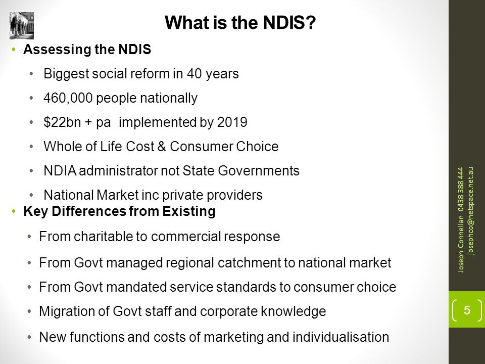 What is the NDIS.