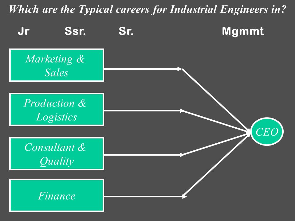 ¿Which are the advantages of following these typical career paths.