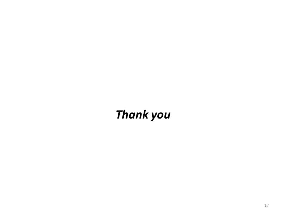 Thank you 17