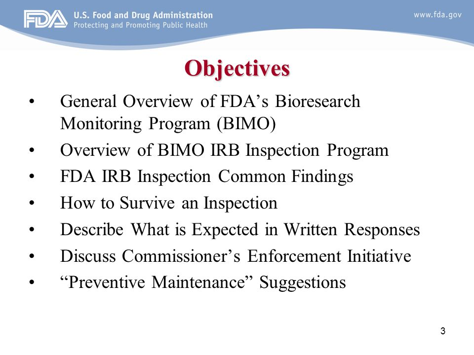 44 Preventive Maintenance Suggestions New Guidance –IRB Continuing Review after Clinical Investigation Approval (February 2012) –Q&As on Informed Consent Elements, 21 CFR 50.25(c) (February 2012) Draft Guidance –Considerations When Transferring Clinical Investigation Oversight to Another IRB (June 2012) –Determining Whether Human Research Studies Can Be Conducted Without an IND (October 2010)
