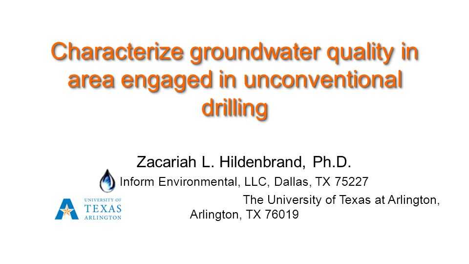 Zacariah L. Hildenbrand, Ph.D.