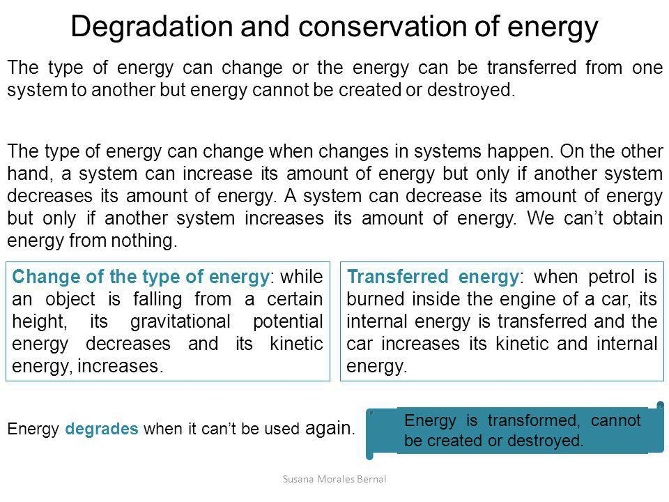 Transference of energy: heat We must not confuse temperature and heat.