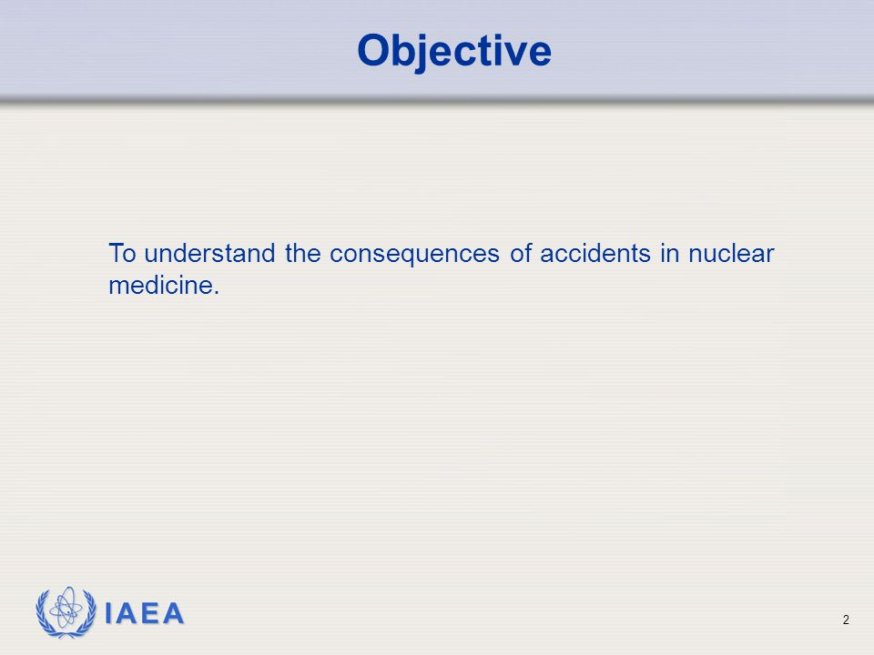 IAEA 3 Contents Deviation from prescribed dose; Accidental medical exposure; Case studies and lessons learned.