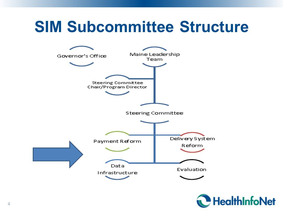 SIM Subcommittee Structure 4