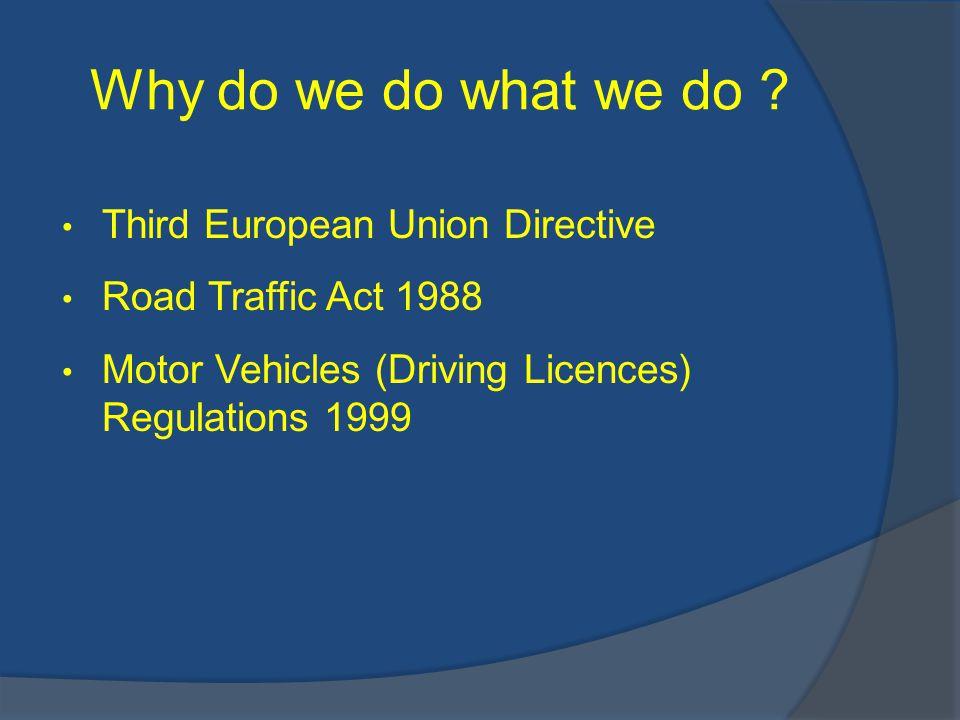 Why do we do what we do .