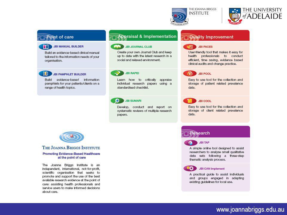 www.joannabriggs.edu.au