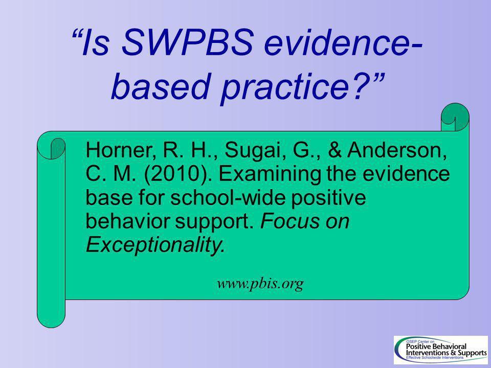 Horner, R. H., Sugai, G., & Anderson, C. M. (2010).