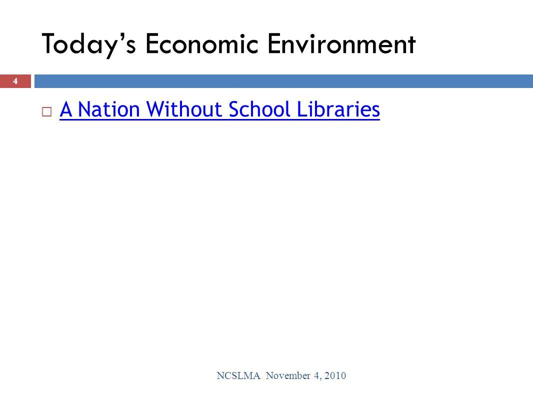 Teacher Surveys NCSLMA November 4, 2010 35