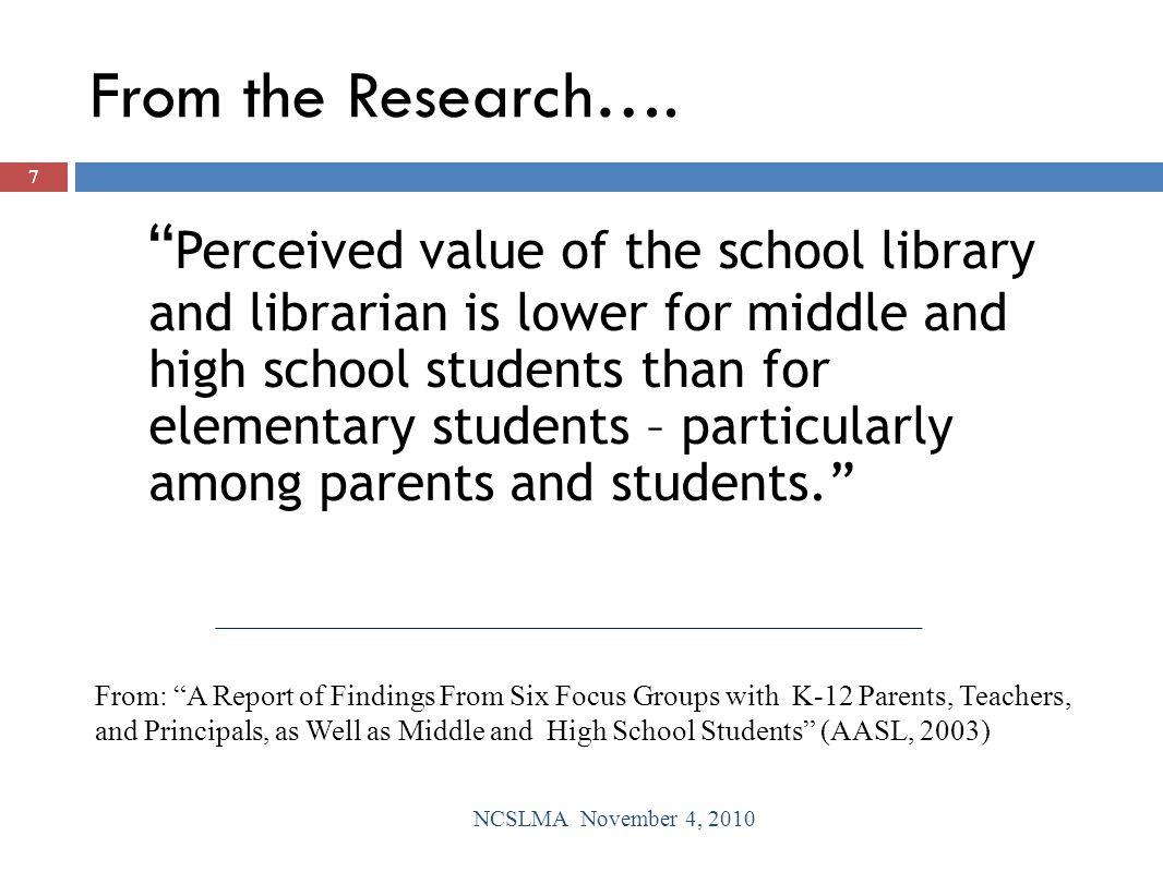 Using Data to Increase Student Achievement  Student EOG Data NCSLMA November 4, 2010 18
