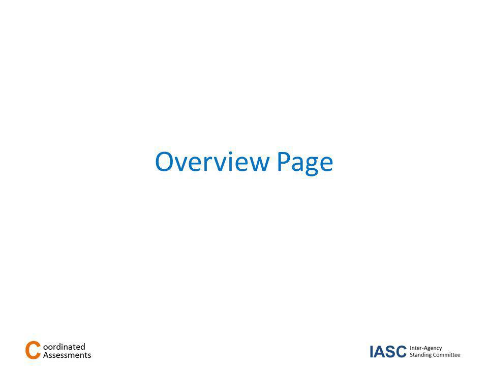 Overview Page