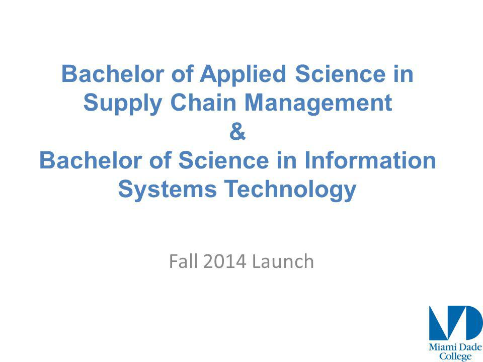 Background The Supply Chain Management degree is designed to provide knowledge of the supply chain, while exploring logistics, regulatory issues, change and inventory management, forecasting, resource allocation, production planning and other functions basic to business.