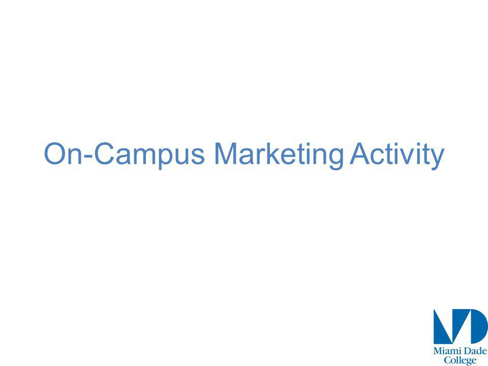 On-Campus Marketing Activity