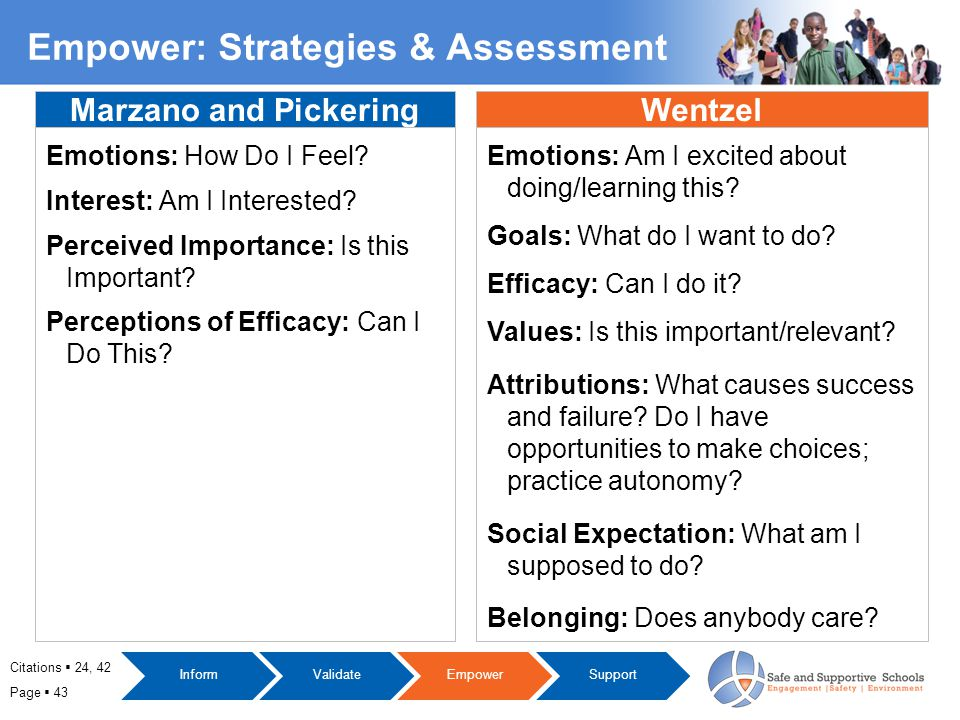 Page  43 Marzano and Pickering Emotions: How Do I Feel.