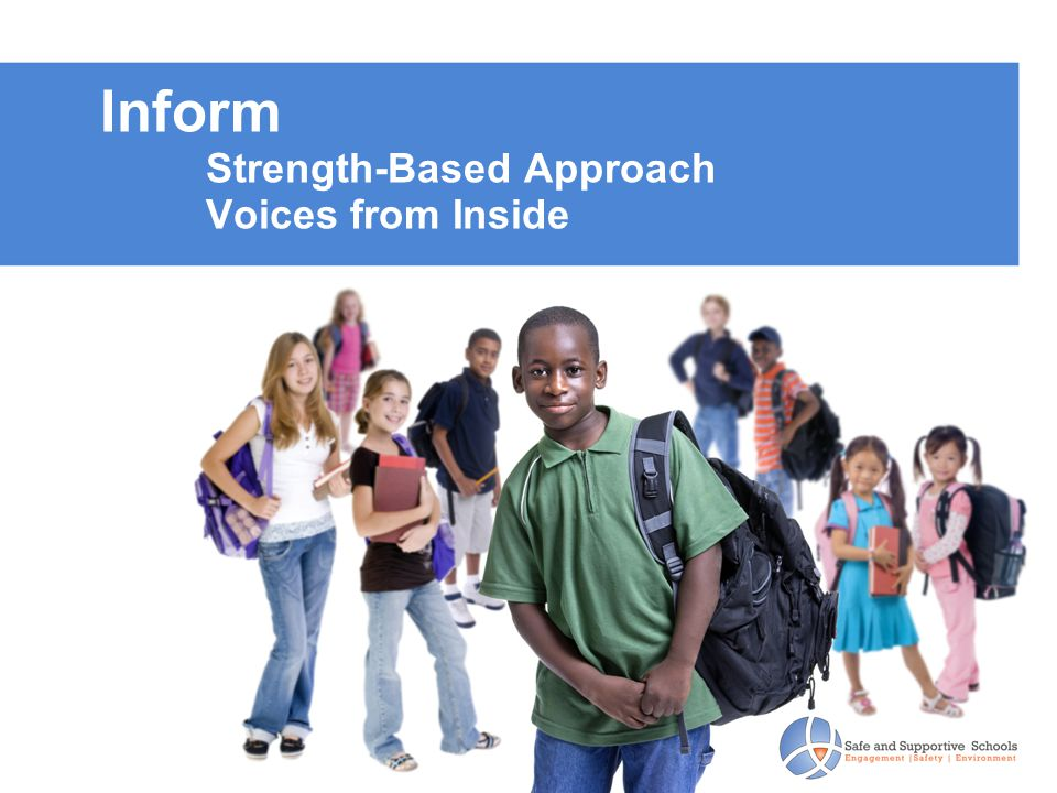 Inform Strength-Based Approach Voices from Inside