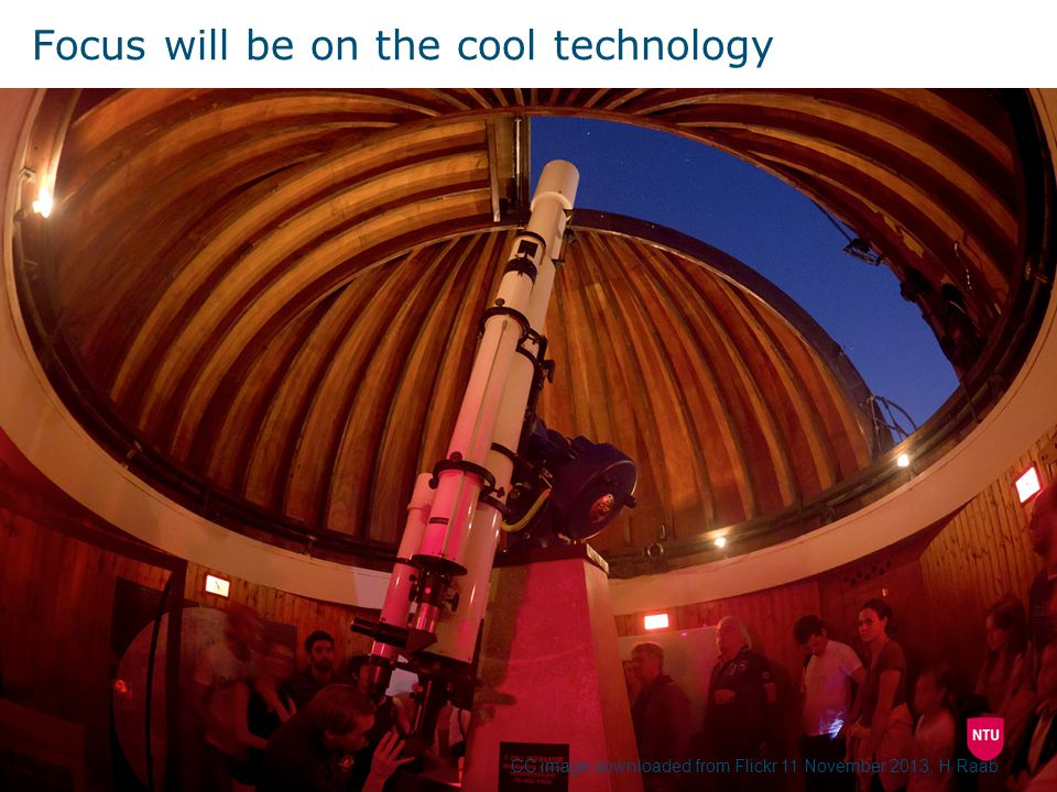 Focus will be on the cool technology CC image downloaded from Flickr 11 November 2013, H Raab
