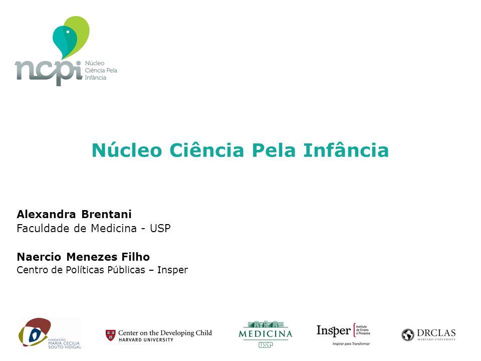 Alexandra Brentani Faculdade de Medicina - USP Naercio Menezes Filho Centro de Políticas Públicas – Insper Núcleo Ciência Pela Infância