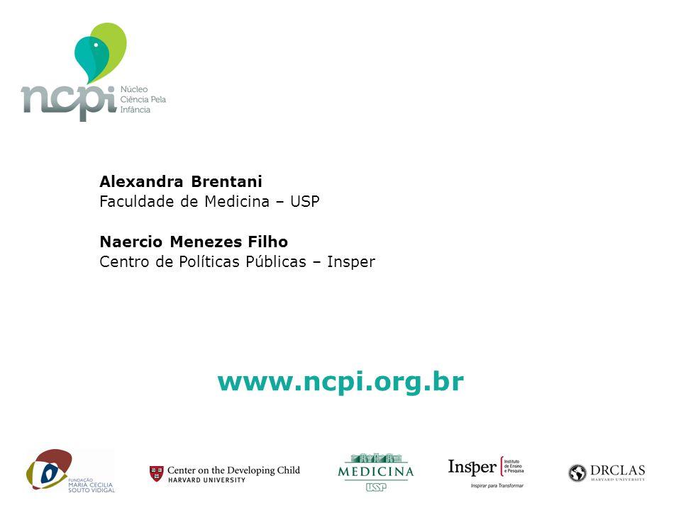 www.ncpi.org.br Alexandra Brentani Faculdade de Medicina – USP Naercio Menezes Filho Centro de Políticas Públicas – Insper