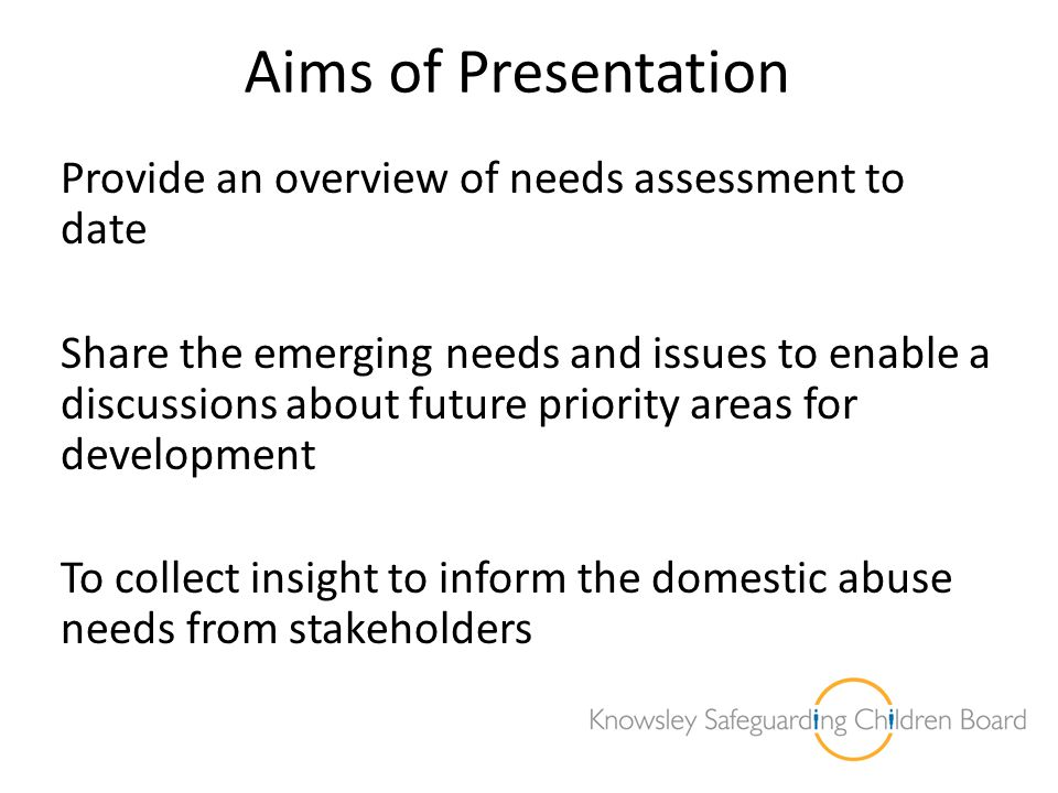 Annual Conference last year we spoke about: Review of approach Successes and challenges Five priority outcomes moving forward