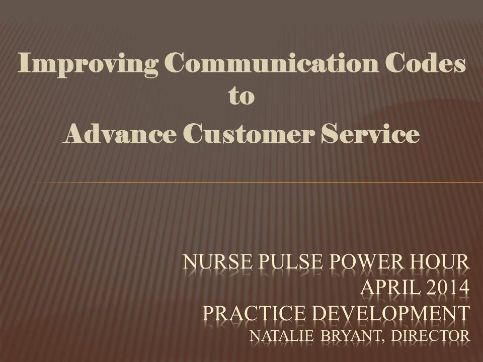 Improving Communication Codes to Advance Customer Service