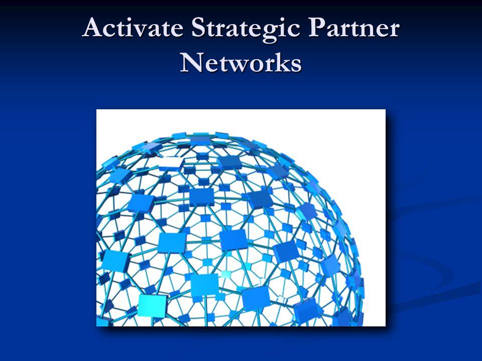 Activate Strategic Partner Networks