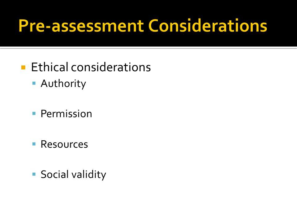 1.Screening / Assessment 2. Defining problem or criteria for achievement 3.