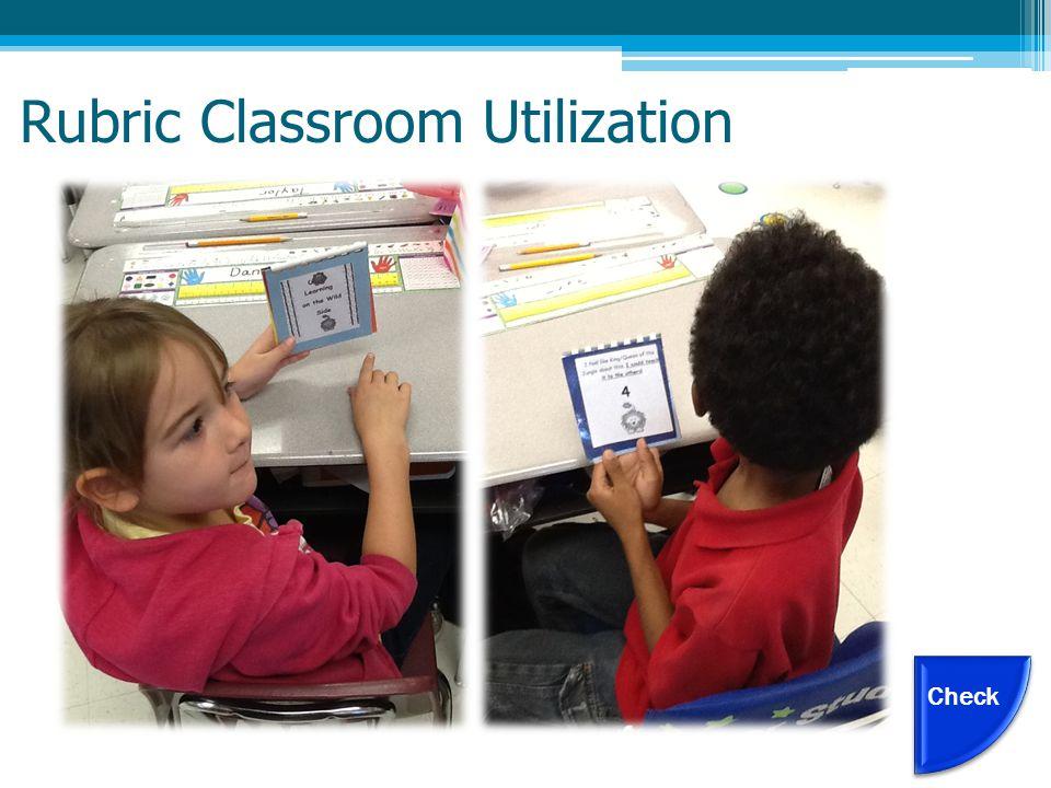 Rubric Classroom Utilization Check