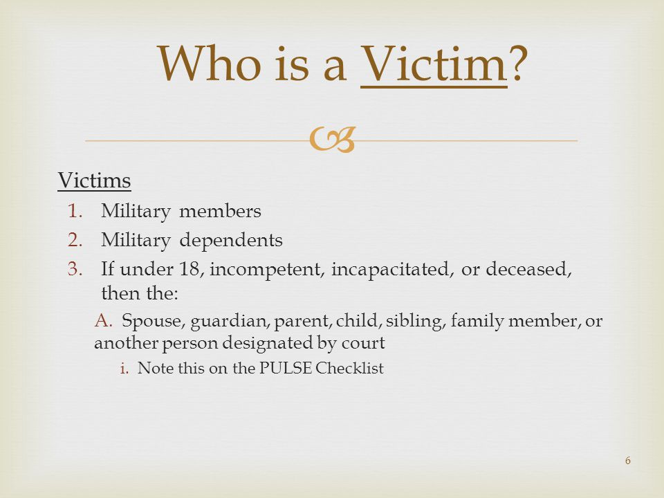  1.VWAP applies to a victim of any crime.