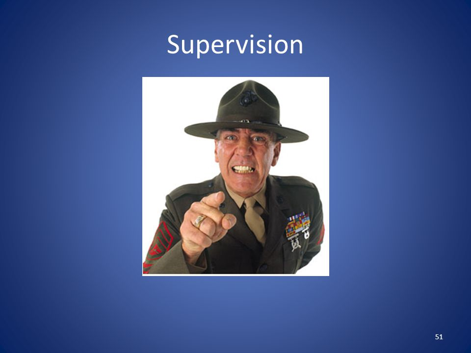 Supervision 51