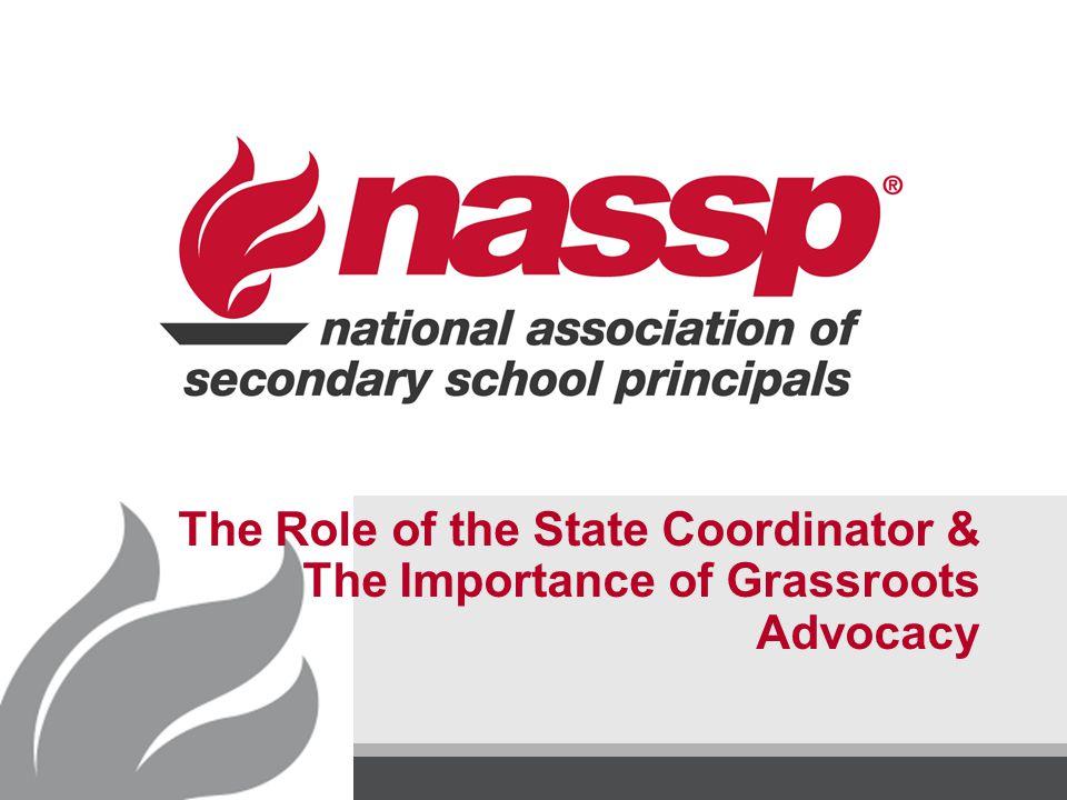 NASSP Grassroots Advocacy Effective Resources (cont.)  NASSP position statements NASSP position statements  NDD & CEF sequestration toolkit NDD & CEF sequestration toolkit