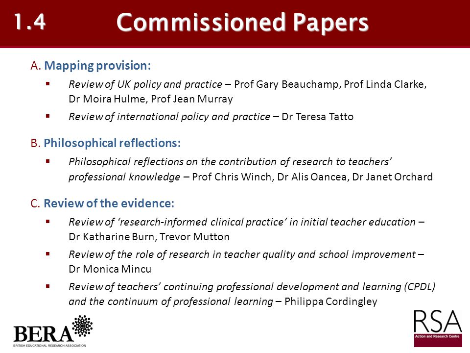 Teachers' responses are not uniform 5.4 4.Implement as required (adherence or compliance) 5.